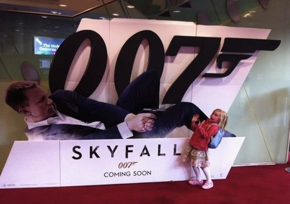 The cost to release a film like Skyfall is huge